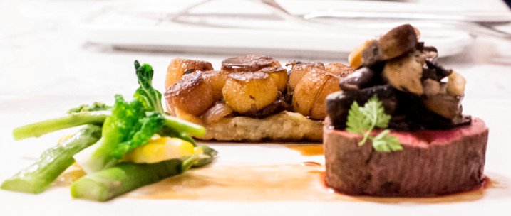 Sous-vide-beef-tenderloin-and-shallot-tart Red or white? Which wine is best to accompany your food?