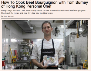 How to: Make Beef Bourguignon – The List online – Jan 2013