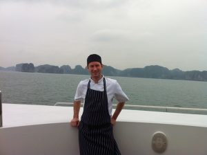 Cooking up a storm- Yacht trip