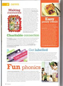 Playtimes Easy Peasy Family Meals – Sep 2012