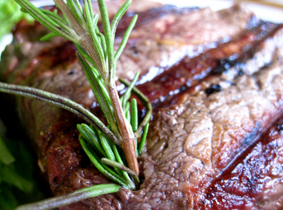 Steak-and-rosemary Food Pairings Suggestions