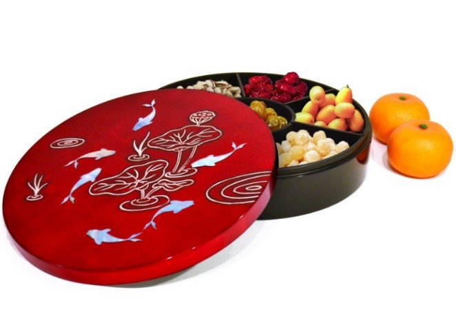 """2 How to prepare a healthy """"Chinese new year candy box"""""""